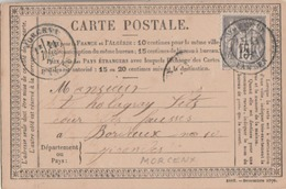 MORCENX ( Landes ) : T. 18 / 77 . - 1849-1876: Classic Period