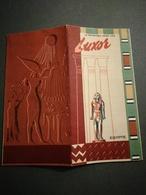 EGYPTE LUXOR RÉPUBLIQUE ARABE UNIE BEAU DÉPLIANT TOURISTIQUE 1958 - Dépliants Turistici