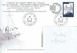 13047 PAP  ODYSSÉE Des RADEAUX TAHITI NUI - TAHITI   - POLYNÉSIE FRANÇAISE - Lettres & Documents
