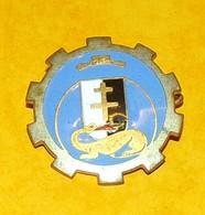 21° Escadron Régional Du Train, Plat,FABRICANT ARTHUS BERTRAND PARIS,HOMOLOGATION SANS, ETAT VOIR PHOTO  . POUR TOUT REN - Armée De Terre