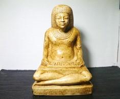 Statue Scribe Assis Art Egyptien - Art Africain