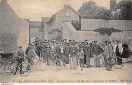 77. N°56417.la Ferté Sous Jouarre.société Générale Des Meulières.la Sortie De L'usine - La Ferte Sous Jouarre