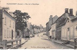 80.n°59405.flixecourt.rue De La République - France