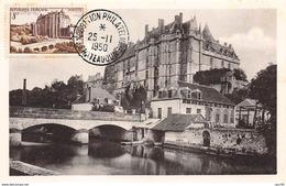 28.n°57640.chateaudun.son Chateau.vallée Du Loir.carte Maximum - Chateaudun