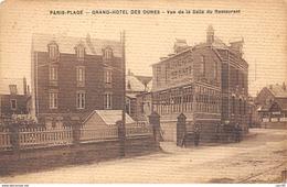 62.n°56134.le Touquet.pas Courante.paris-plage.grand Hotel Des Dunes.salle Du Retauant - Le Touquet