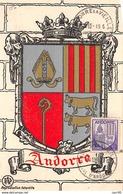 Andorre.n°57855.blason.carte Maximum - Andorre