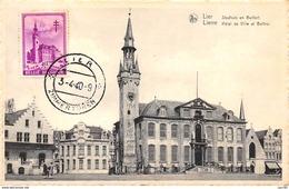 Belgique.n°57889.lier.hotel De Ville Et Beffroi.carte Maximum - Lier