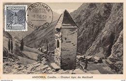 Andorre.n°57866.oratori Tipic De Meritxell.carte Maximum - Andorre