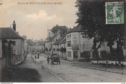 21.n°58938.pontailler Sur Saone.entrée.boulangerie - France