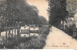 18.n°58868.vierzon.canal Du Berry - Vierzon