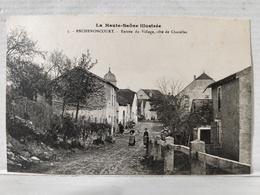 Anchenoncourt. Entrée Du Village, Côté Chazelles. Animée - Francia