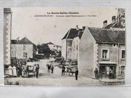 Anchenoncourt. Ancienne Route D'Anchenoncourt à Vauvillers. Animée - Francia