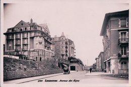 Lausanne, Avenue Des Alpes, The British & American Hotel (1726) - VD Vaud