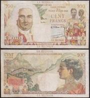 100 FRANCS 1947 LA REUNION - P45 - Caisse Centrale De La France D'Outre-Mer - Andere