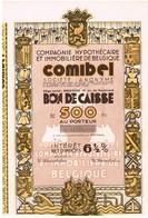 """Titre Ancien - Compagnie Hypothécaire Et Immobilière De Belgique """"comibel"""" -  Société Anonyme  - Titre Uncirculed - Banque & Assurance"""