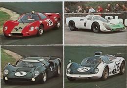 Automobile Sport Mécanique Année 1968  Lot De 24 Cartes - Automovilismo