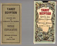 Tarot Egyptien -Editions Dusserre -Paris - Godsdienst & Esoterisme