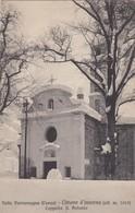LIMONE-CUNEO-VALLE VERMENAGNA-CAPPELLA SANT'ANTONIO-INNEVATA-NON VIAGGIATA -ANNO 1920-1930 - Cuneo