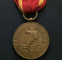 Medal Za Warszawe 1939–1945 (Medal For Warsaw 1939-1945) - Polish Military Medal, Instituted In Full Size Medal. VINTAGE - Jetons En Medailles
