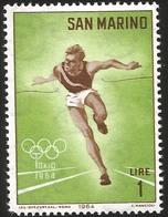V)  1964 SAN MARINO, 18TH OLYMPIC GAMES, TOKYO - San Marino