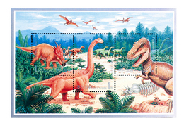 2000 North Korea Stamp  Dinosaur MS - Korea, North