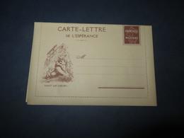 CARTE-LETTRE De L'ESPERANCE ,haut Les Coeurs!nos Allies Les Serbes!(lot51) - Postal Stamped Stationery