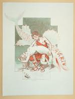 érotisme Satirique 1908, Alphonse Hector Colomb/ B. Moloch, La Célèbre Société Artistique Et Littéraire Le Cornet - Lithographies