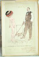 érotisme Satirique, Maurice Neumont, La Célèbre Société Artistique Et Littéraire Le Cornet - Lithographies