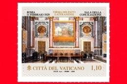 Nuovo - MNH - VATICANO - 2019 - 90º Anniversario Dei Patti Lateranensi - Sala Della Conciliazione - 1.10 - Nuovi