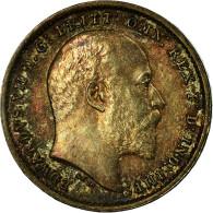 Monnaie, Grande-Bretagne, Edward VII, 2 Pence, 1902, SPL, Argent, KM:796 - 1902-1971: Postviktorianische Münzen