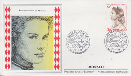 Enveloppe  FDC   1er  Jour   MONACO   Princesse  GRACE   EUROPA    1996 - Europa-CEPT