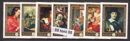 1969 ART -PAINTING Mi 2555-2561 7v.-MNH  HUNGARY - Arte