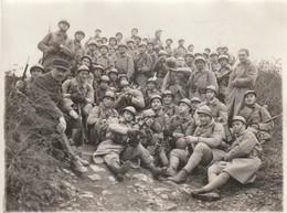 Rare Photo 6 Eme Régiment Du Génie En Tenue De Campagne Pour Le Tir Format 11 X 8.5 Cm - 1914-18