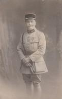 Rare Photo Médecin-pharmacien Ou Vétérinaire Selon Pattes De Col Avec Croix De Guerre - 1914-18