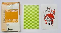 JEU DE 32 CARTES + 1 JOKER AVEC ETUI PREGY DECO ENDUIT POUR JOINT LAFARGE PLATRES / MADE IN FRANCE - Cartes à Jouer Classiques