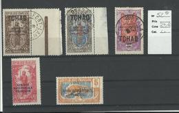 Tchad, Semi Modernes 3 Obl. 2 Neufs, Voir Scann Et Description - Oblitérés