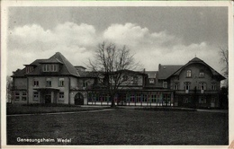 !  Alte Ansichtskarte Aus Wedel, Genesungsheim, 1933 - Wedel