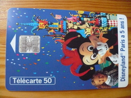 Phonecard France - Disney - 1997