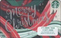 Singapore Starbucks Card Merry Christmas 2018 - Gift Cards