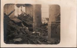 !  Seltene Echtfotokarte 1914-1918, 1. Weltkrieg, Rare Allemagne Photocard Autreches, Kirche, Oise, Guerre 14-18, Foto - Frankreich