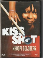 "DVD  ""  KISS SHOT  ""  WHOOPI GOLDBERG  Billard Et Humour Etat: TTB Port 110 Gr Ou 30 Gr - Comédie"