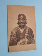 PRIEST Statue > ART > Japan 日本 Japon ( Photo Franz Müller ) Cöln Museum > Anno 19?? ( See / Voir / Zie Photo ) ! - Japon