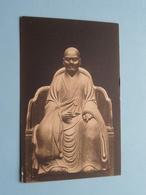 PRIEST Statue > ART > Japan 日本 Japon ( Photo Franz Müller ) Cöln Museum > Anno 19?? ( See / Voir Photo ) ! - Japon