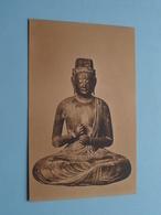DAINICHI NYORAI Statue > ART > Japan 日本 Japon ( Photo Franz Müller ) Cöln Museum > Anno 19?? ( See / Voir Photo ) ! - Japon