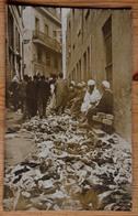 Carte Photo Prise Dans Une Rue En Afrique Du Nord - Algérie ?? - Gravats ? - Ruines ? Séisme ? Guerre ??? (n°15703) - Cartes Postales
