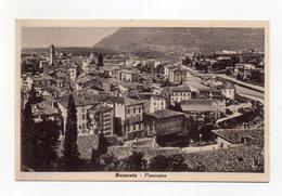 Rovereto (Trento) - Panorama - Viaggiata Nel 1939 - (FDC16377) - Trento