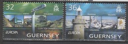 Guernesey Europa 2004 N° 1011/ 1012 ** Vacances - 2004