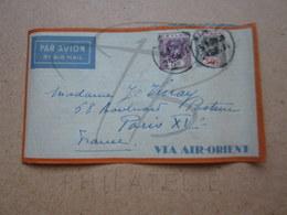 VEND LETTRE DE CEYLAN !!! - Ceylon (...-1947)