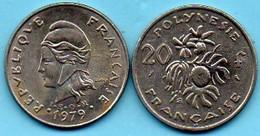 R13/ FRENCH  POLYNESIE  20 Francs 1979 - Polynésie Française