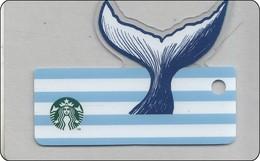 Singapore Starbucks Card Fish - 2018 RAR - Gift Cards